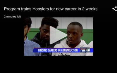 Program trains Hoosiers for new trade careers in 2 weeks
